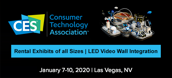 2020 Consumer Electronics Show.Trade Show Displays Led Video Wall Rentals Ces 2020 Las